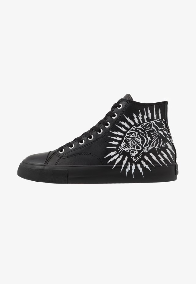 SPARK TOP - High-top trainers - black
