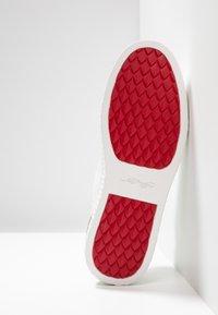 Ed Hardy - SCALE TOP - Sneakersy niskie - white - 4