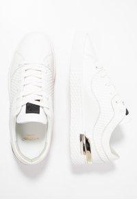 Ed Hardy - SCALE TOP - Sneakersy niskie - white - 1