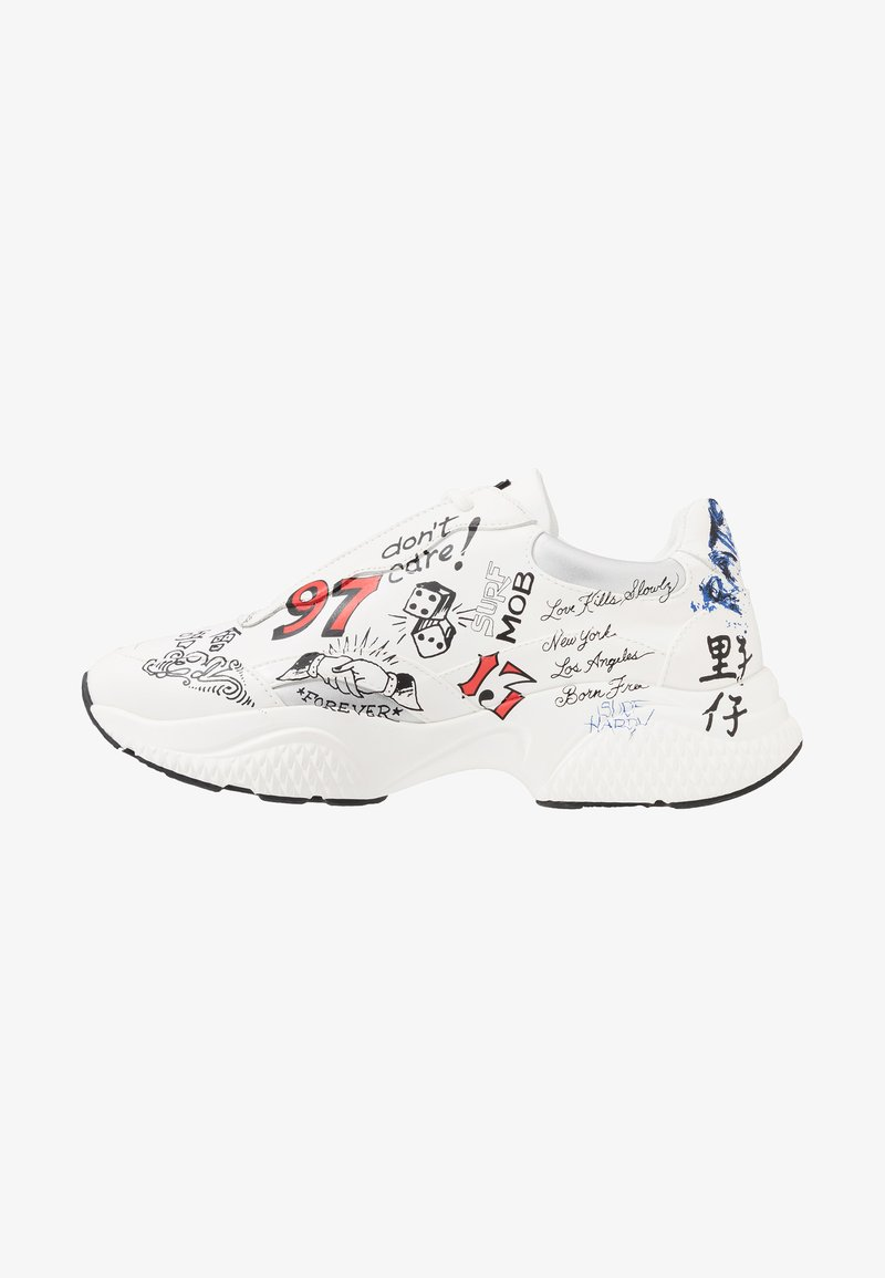 Ed Hardy - INSERT RUNNER  - Trainers - white/multicolor