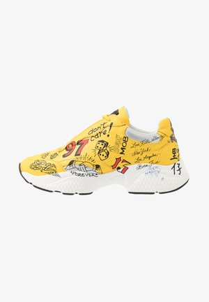 INSERT RUNNER  - Sneakers laag - yellow/multicolor