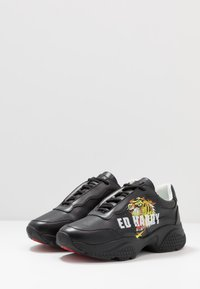 Ed Hardy - INSERT RUNNER TIGER - Sneakers basse - black/multicolor - 2