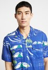 Edwin - GARAGE SHIRT  - Overhemd - blue island
