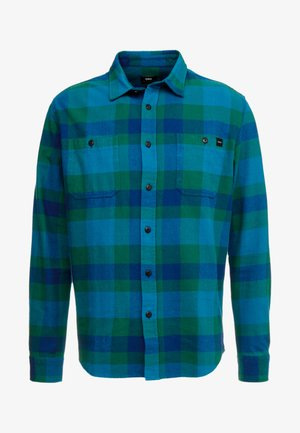 LABOUR - Camisa - dress blue/dark green