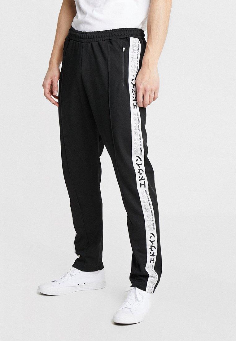 Edwin - TRAINING PANT - Pantalon de survêtement - black