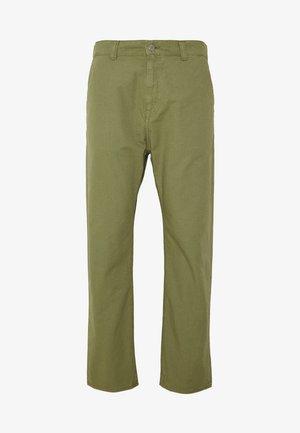 UNIVERSE PANT CROPPED - Pantaloni - olive