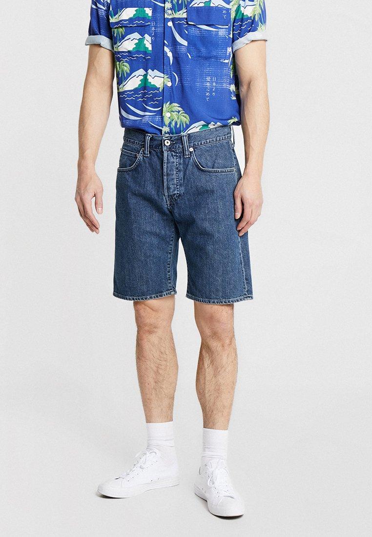 Edwin - ED-55 - Denim shorts - topias wash/kingston blue denim