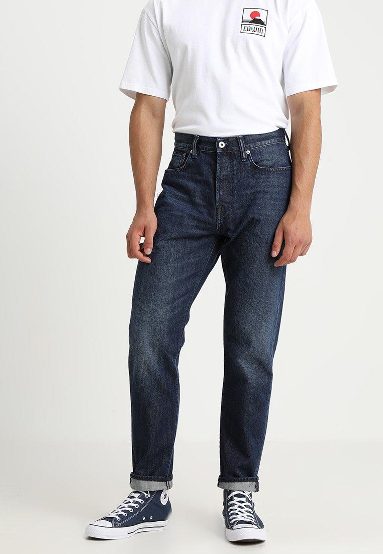 Edwin - ED-45 - Jeans baggy - kingston blue denim
