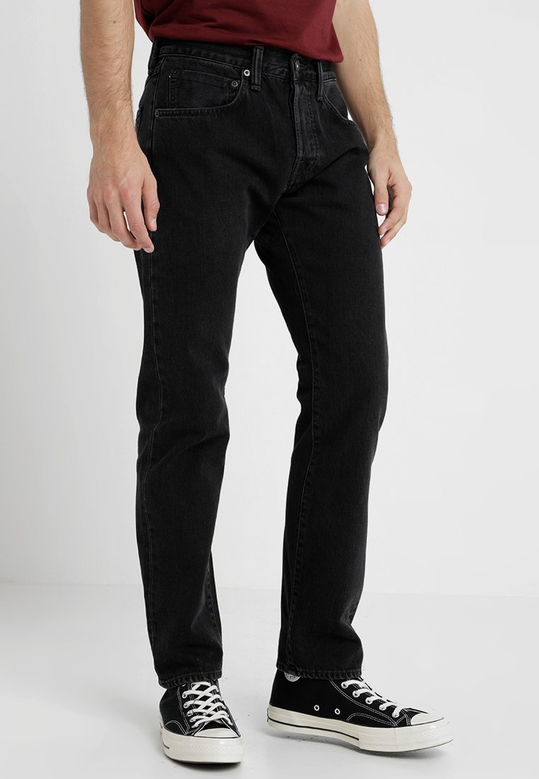 Edwin - ED-55 REGULAR - Vaqueros rectos - black denim