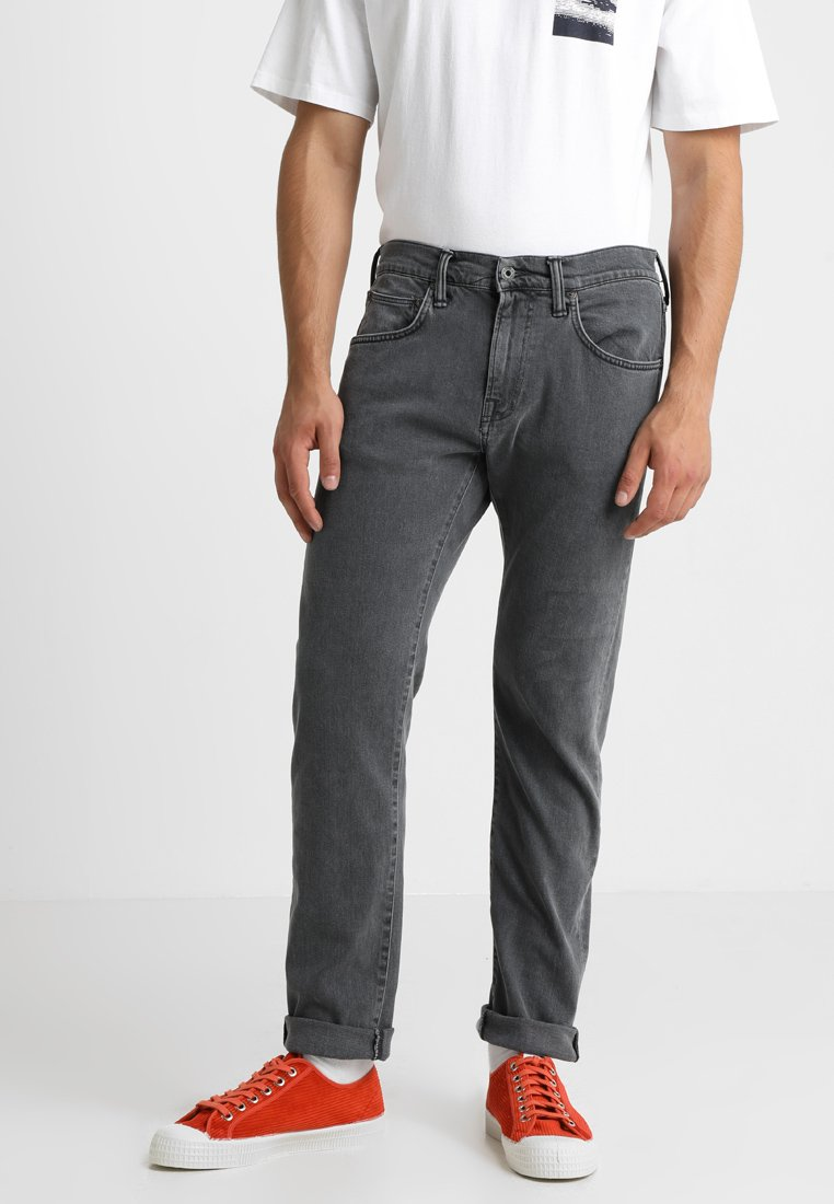 Edwin - ED-55 REFULAR - Jeans a sigaretta - bristol wash power black denim