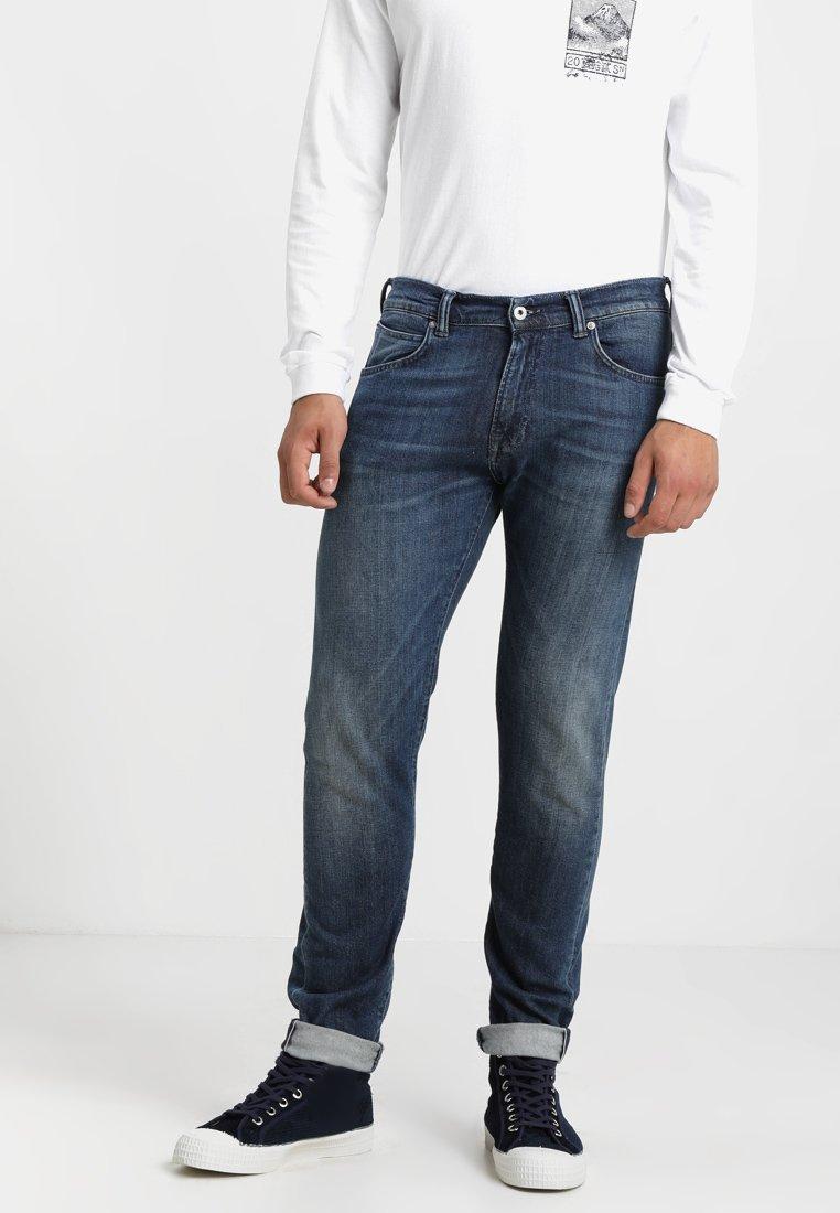 Edwin - ED-85 SLIM TAPERED DROP CROTCH - Jeans Tapered Fit - blue denim