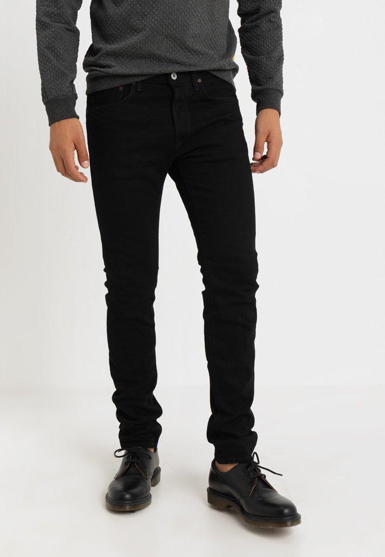 Edwin - CLASSIC DROP CROTCH - Jeans Tapered Fit - black