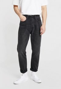 Edwin - ED-45 - Džíny Relaxed Fit - mist wash red selvage/black denim - 0