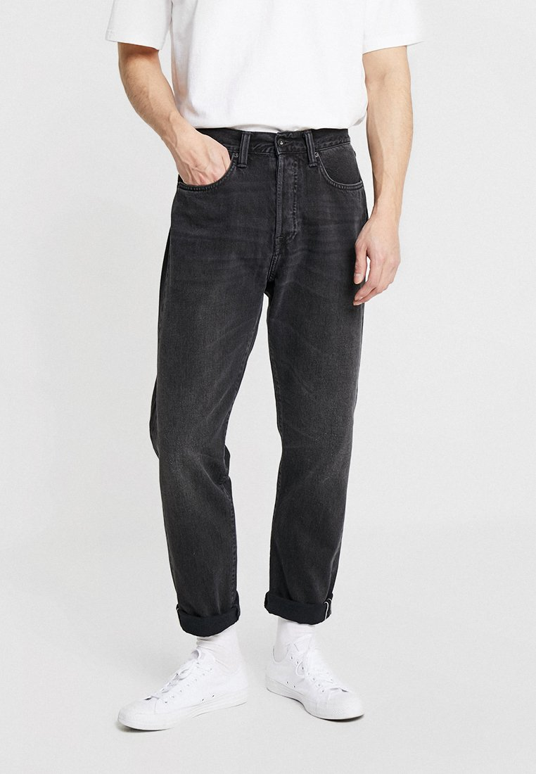 Edwin - ED-45 - Jeans baggy - mist wash red selvage/black denim