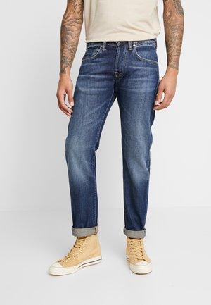 Straight leg jeans - selvage denim