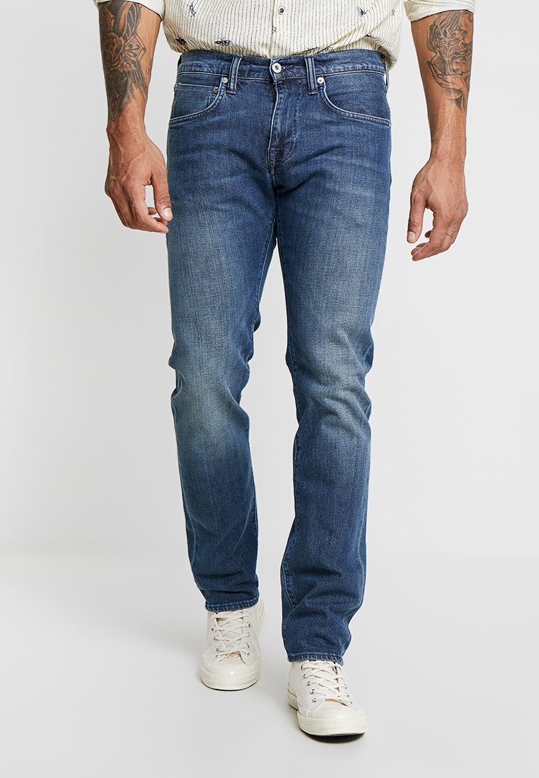 Edwin - ED-55 REGULAR TAPERED - Jeans Straight Leg - blue denim