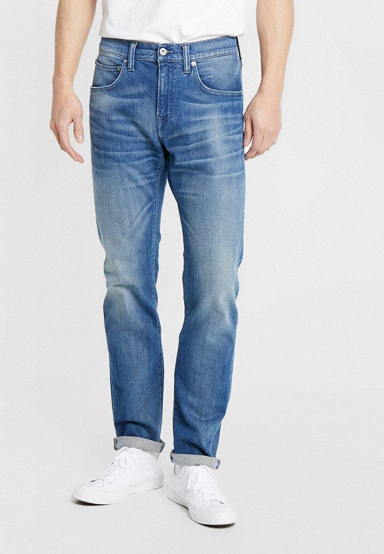 Edwin - ED-55 - Jeans Straight Leg - braxton blue denim
