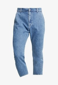 Edwin - UNIVERSE PANT CROPPED - Jeans Relaxed Fit - mid stone wash - 4