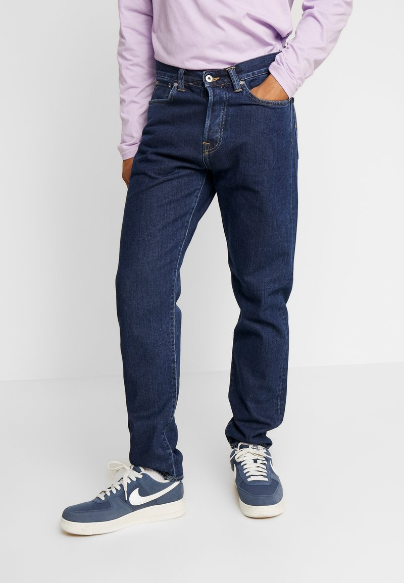 Edwin - ED-45 LOOSE TAPERED - Jeans Relaxed Fit - dark blue denim