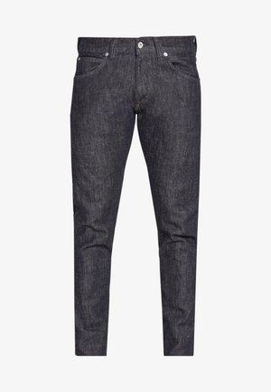 ED DROP CROTCH - Jeans Tapered Fit - rinsed black denim