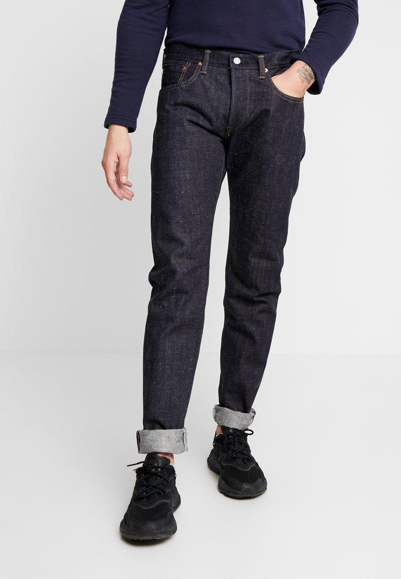 Edwin - REGULAR TAPERED - Straight leg jeans - dark-blue denim