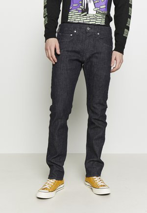 TAPERED - Straight leg jeans - dark-blue denim