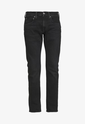 REGULAR TAPERED - Jeans Tapered Fit - black denim