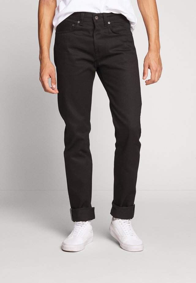 Jeans Tapered Fit - black denim
