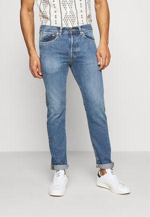 Jeans Tapered Fit - light-blue denim