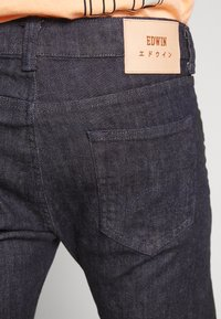 Edwin - Slim fit jeans - rinsed yuuki blue denim - 5