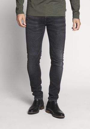 SLIM TAPERED DROP CROTCH - Jeans Tapered Fit - kioko wash ayano black denim