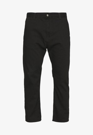 UNIVERSE PANT CROPPED - Relaxed fit jeans - black