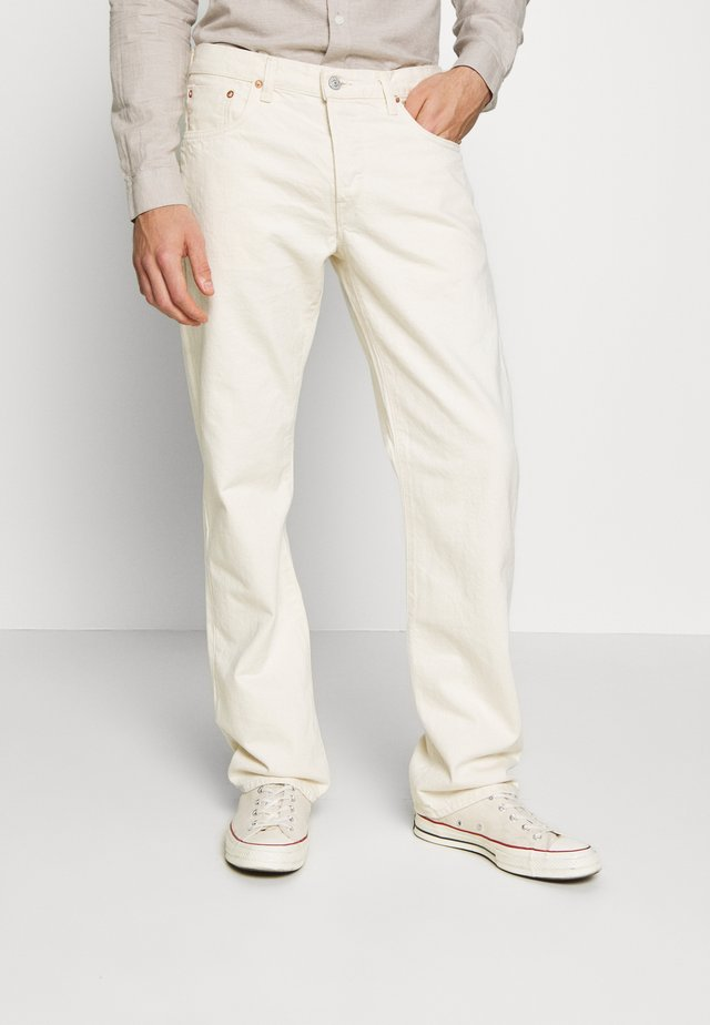 STRAIGHT - Relaxed fit jeans - rinsed natural