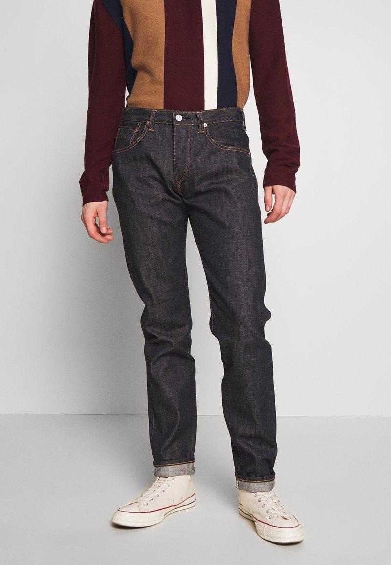Edwin - Jeans a sigaretta - raw statenihon menpu, dark pure indigo rainbow selvage, 13.5oz