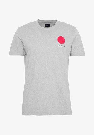 JAPANESE SUN - T-shirt z nadrukiem - grey marl