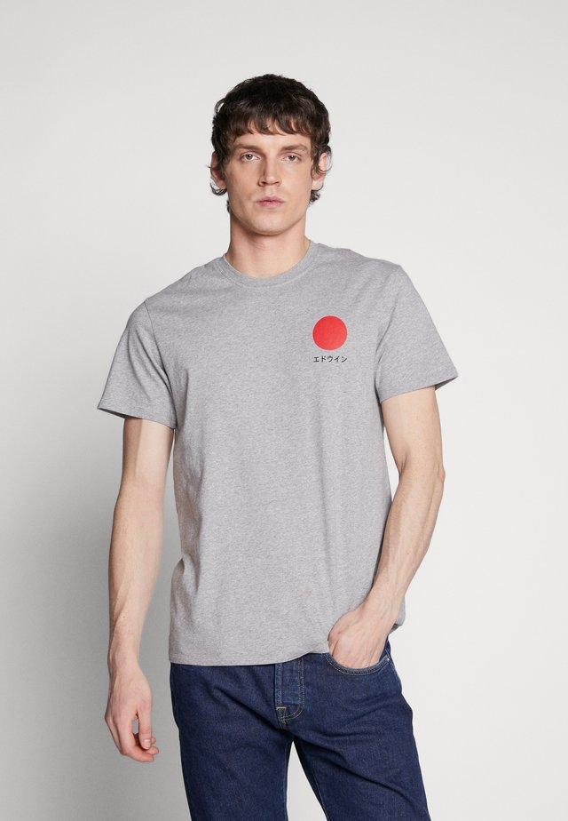 JAPANESE SUN - T-shirt print - grey marl
