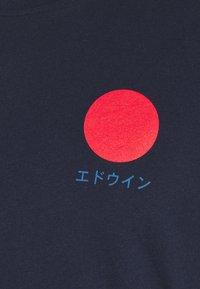 Edwin - JAPANESE SUN - Print T-shirt - navy blazer - 2
