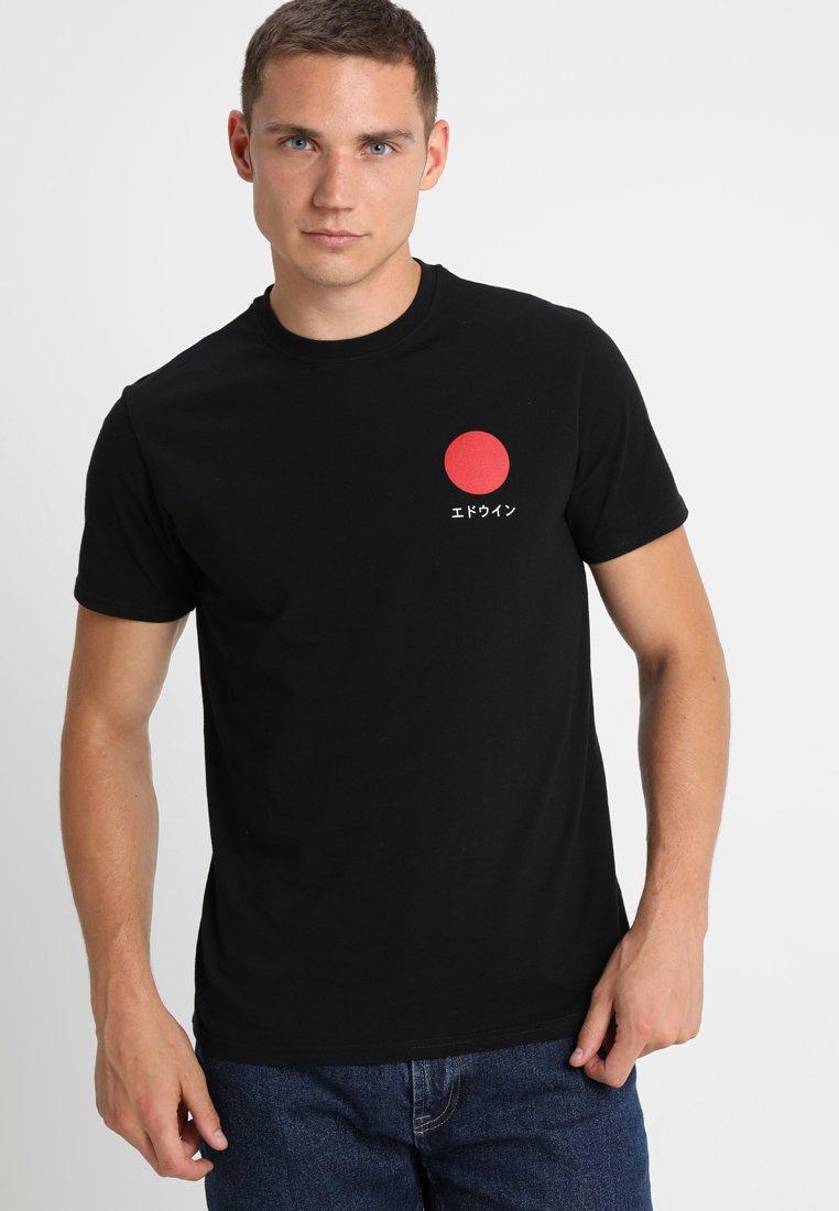 Edwin - JAPANESE SUN - T-shirt con stampa - black