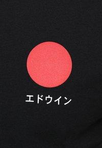 Edwin - JAPANESE SUN - Printtipaita - black - 5