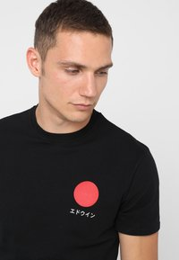 Edwin - JAPANESE SUN - Printtipaita - black - 3