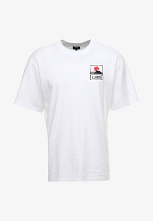 SUNSET ON FUJI  - T-shirt print - white