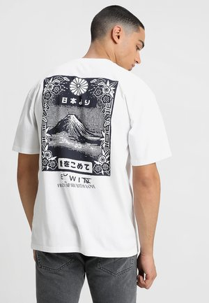 FROM FUJI  - Print T-shirt - white