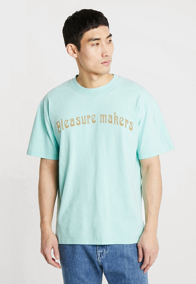 Edwin - PLEASURE MAKER - T-shirts print - dusty jade