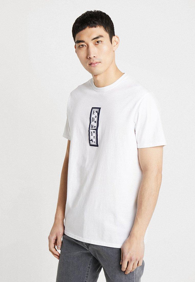 Edwin - SIGNBOARD  - T-Shirt print - white