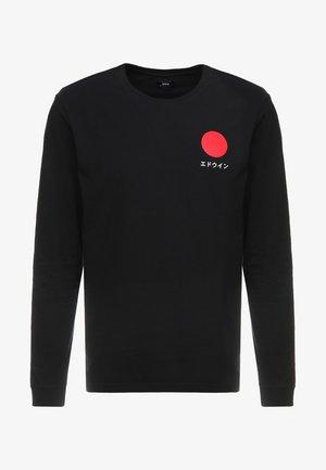 JAPANESE SUN - T-shirt à manches longues - black