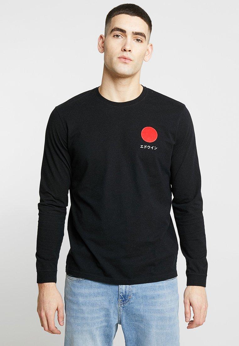 Edwin - JAPANESE SUN - T-shirt à manches longues - black