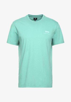 LOGO CHEST  - T-shirts basic - frosty spruce