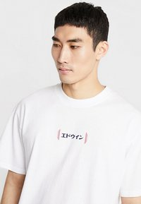 Edwin - AURORA - T-shirt imprimé - white - 4