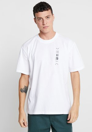 SAN SETTO - T-shirt imprimé - white