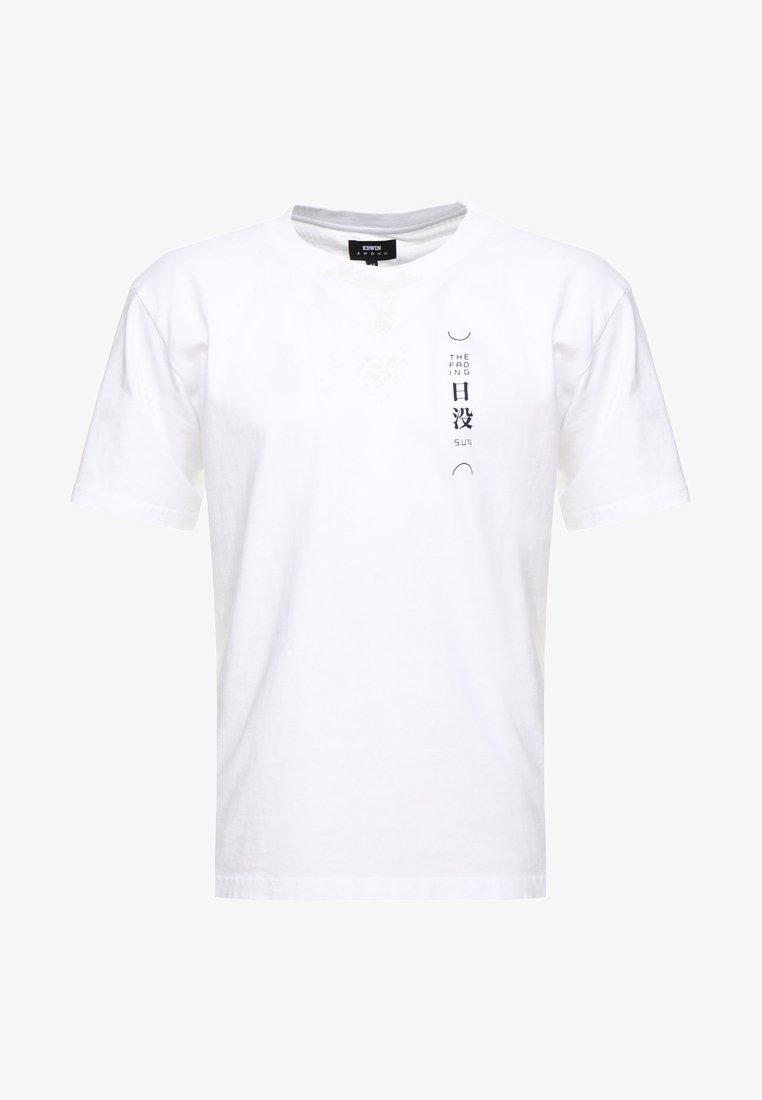 Edwin SAN SETTO - T-shirts med print - white